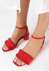 Czerwone Sandały That's Crazy
