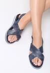 Granatowe Sandały Mellowness