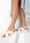Białe Sandały Mellowness