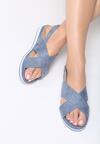 Niebieskie Sandały Righteous