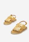 Żółte Sandały Cosmic Splash