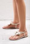 Beżowe Sandały Silent Tide