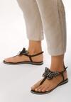 Czarne Sandały Uniqueness