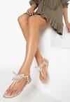 Beżowe Sandały Uniqueness
