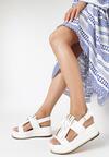 Białe Sandały Stormcloud