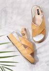 Żółte Sandały Halfway To Paradise