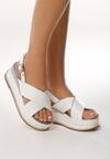Białe Sandały Halfway To Paradise