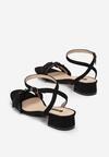 Czarne Sandały Prejudiced