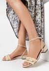 Beżowe Sandały Prejudiced