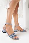 Niebieskie Sandały Prejudiced