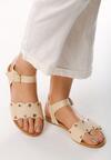 Beżowe Sandały Shame On You
