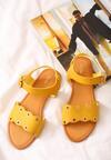 Żółte Sandały Shame On You