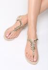 Beżowe Sandały Goddess Of Love