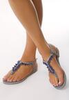 Niebieskie Sandały Goddess Of Love