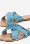 Niebieskie Klapki Flamboyant