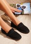 Czarne Espadryle Beautiful Surprise