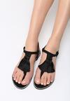 Czarne Sandały My Romance