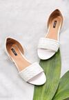Białe Sandały Don't Be Shy