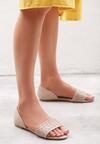 Beżowe Sandały Don't Be Shy