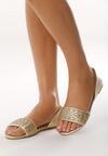 Złote Sandały Don't Be Shy