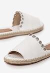 Białe Klapki Hunting For Fashion