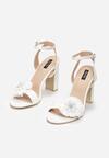 Białe Sandały Be Unique