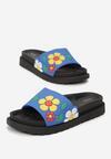 Niebieskie Klapki Stiff Sunflower