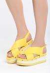 Żółte Sandały Smitten