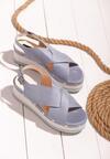 Niebieskie Sandały Smitten