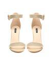 Beżowe Sandały Upscale