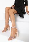 Różowe Sandały Upscale