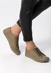 Khaki Trampki Low Down
