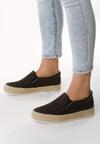 Czarne Slip On Not Fading