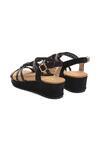 Czarne Sandały Robust Design
