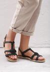 Czarne Sandały Mirthful