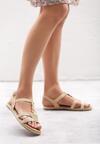 Beżowe Sandały Mirthful