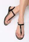 Czarne Sandały Try Tonight