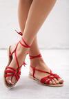 Czerwone Sandały Women In Love