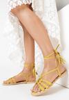 Żółte Sandały Women In Love