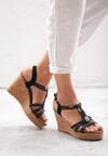 Czarne Sandały Maturity