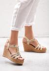 Beżowe Sandały Maturity