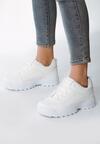 Białe Sneakersy The First Marathon