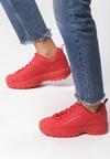 Czerwone Sneakersy The First Marathon