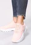 Różowe Sneakersy Stereo Love