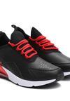 Czarno-Czerwone Buty Sportowe You Own It