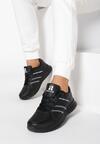Czarne Buty Sportowe Look Lovely