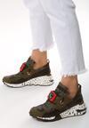 Zielone Sneakersy Termed