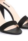 Czarne Sandały Downright