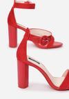 Czerwone Sandały Downright