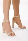 Beżowe Sandały Downright